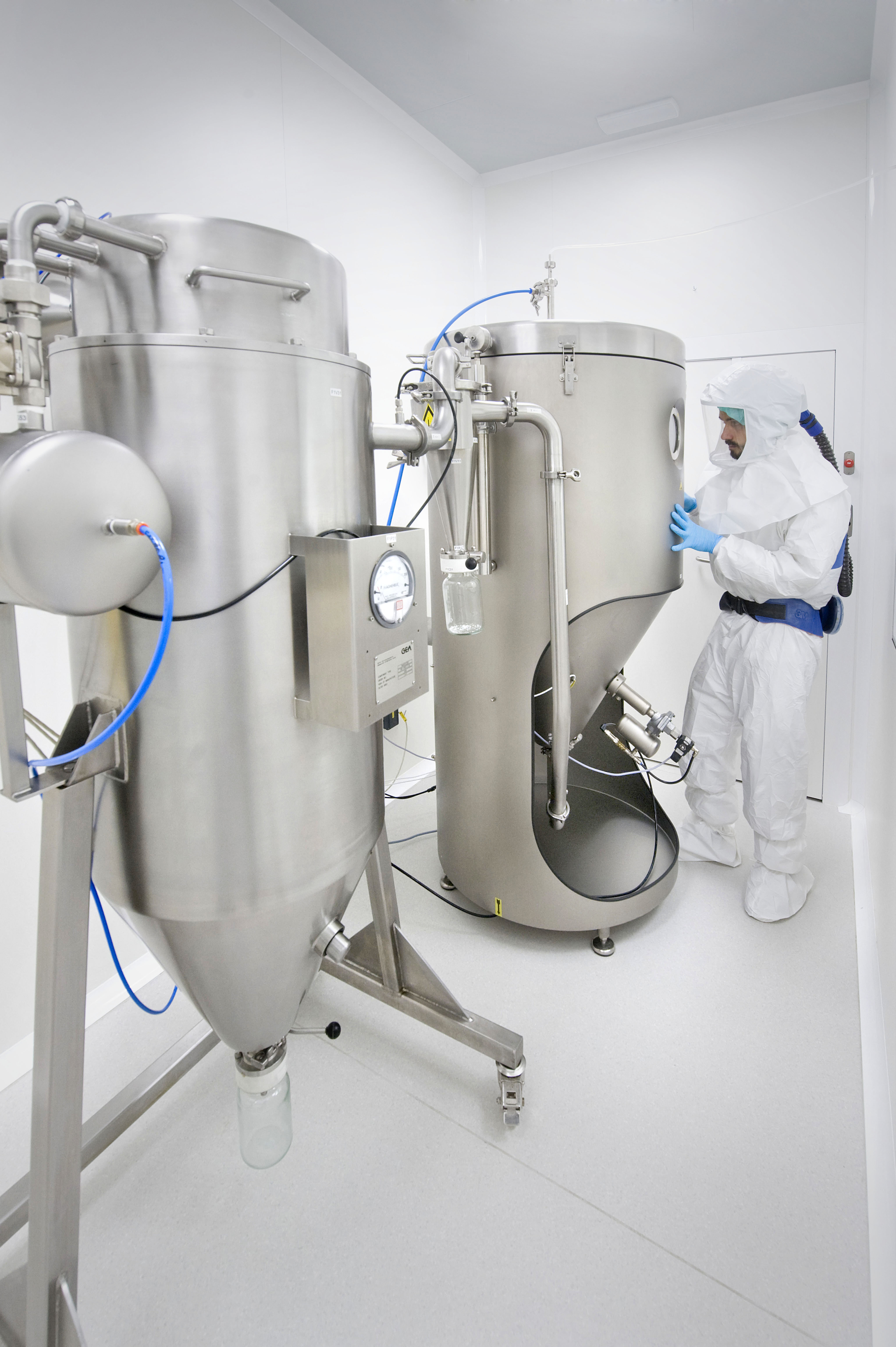 Idifarma Confirms Spray Drying For Highly Potent Drugs